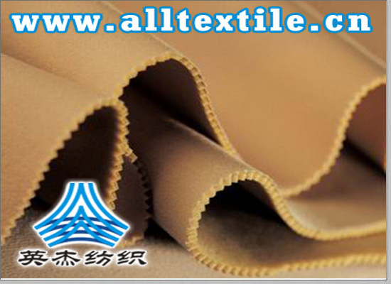 double-sided card clothing + sponge + double-sided card clothing composite fabric