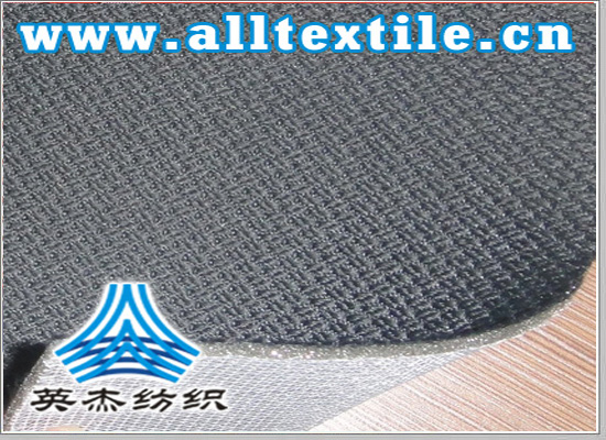 knitted sweaters + spongy + knitted fabric composite fabric