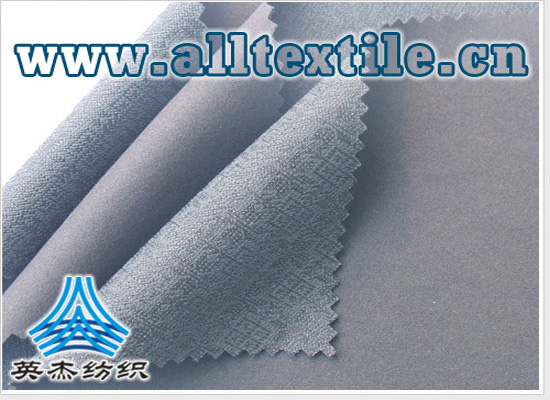moisture permeable breathable jacquard polyester fabric +50D knitted fabric TPU composite fabric