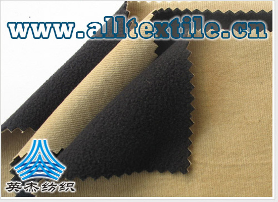 breathable breathable cotton wick stripe +TPU+ elastic fleece compound fabric