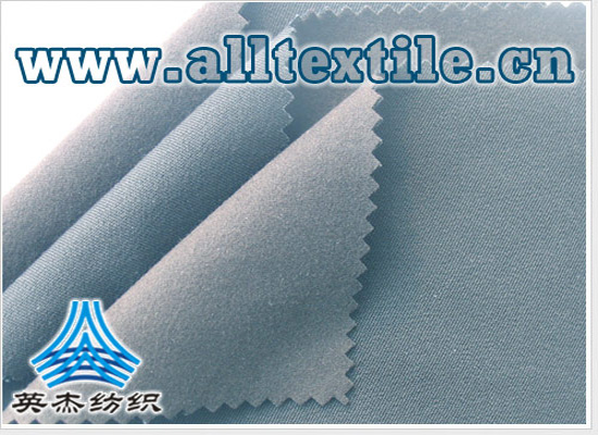 waterproof, moisture permeable breathable cotton all side elastic fabric + elastic fleece compound fabric